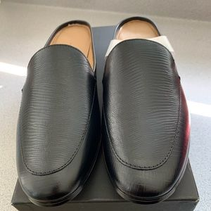Ladies  Black Demi Slide shoes